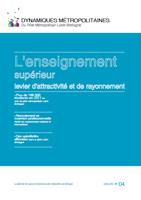 04 – octobre 2012 – L'enseignement supérieur, levier d'attractivité et de rayonnement
