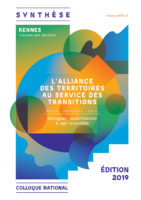 SEPTEMBRE 2019 – Synthèse du colloque « L'alliance des territoires au service des transitions »
